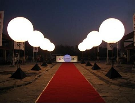 outdoor advertising led balloon stand  balloons