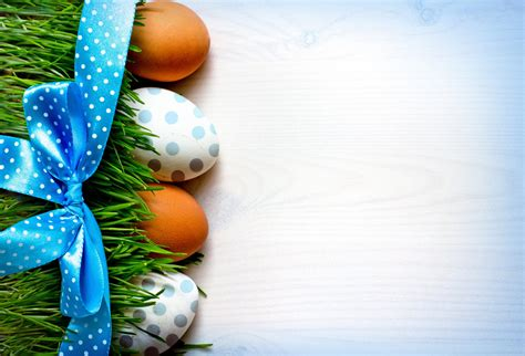 holiday easter grass eggs belt bow background hd wallpaper