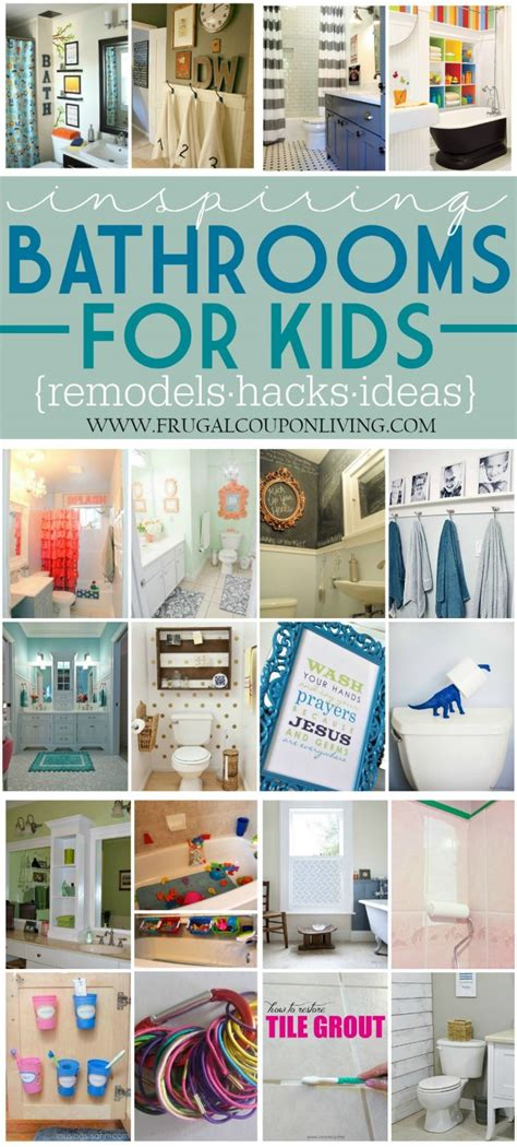 inspiring kids bathrooms remodels  hacks