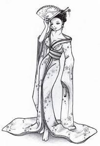 Geisha By Lunasumerindeviantartcom On Deviantart