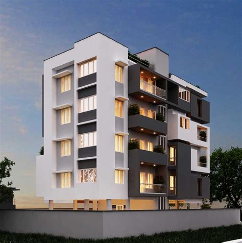 Apartment Design At Thirunelveli  Architects & Interior