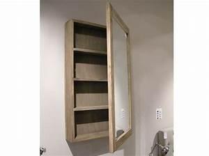 Armoire Peu Profonde : 40 armoires de salle de bains elle d coration ~ Teatrodelosmanantiales.com Idées de Décoration
