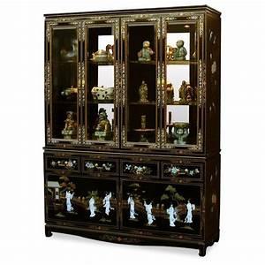 Meuble Chinois Occasion : vitrine chinoise vaisselier meubles ~ Teatrodelosmanantiales.com Idées de Décoration