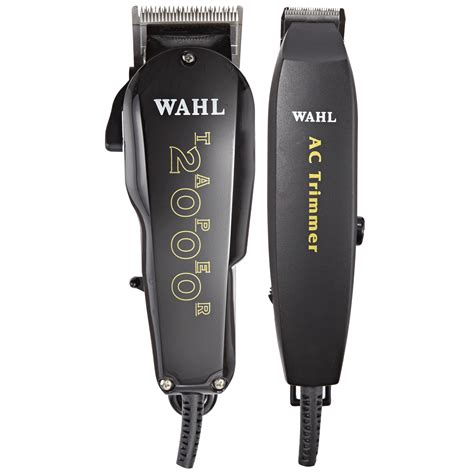 wahl essentials professional clipper trimmer kit