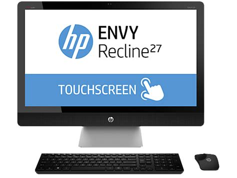 hp envy recline 27 hp envy recline 27 k150xt touchsmart all in one pc