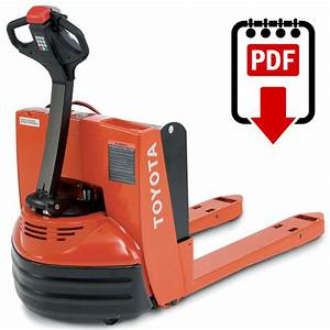 Toyota Forklift Service Manual 7hbw23 Series