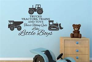 boys bedroom wall stickers childrens bedroom wall With best 20 collecton tractor wall decals