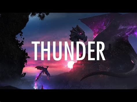 Imagine Dragons Thunder Lyrics Lyric Video