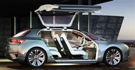 subaru  unveil hybrid tourer concept  tokyo photo