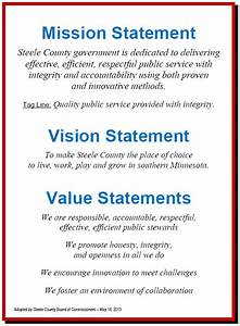 mission vision values statements employee recognition With values statement template