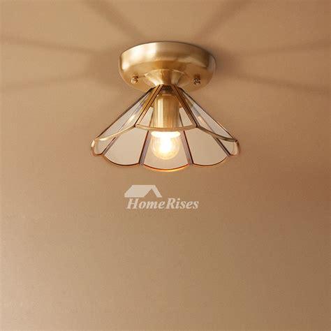 Cheap Bathroom Light Fixtures by Semi Flush Ceiling Lights Glass Brass Fixture Bathroom