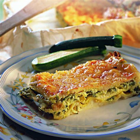 lasagnes aux courgettes et chèvre recette recette