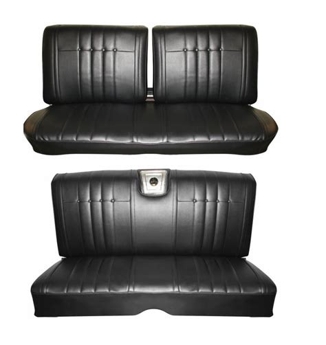 impala standard front rear bench seat upholstery