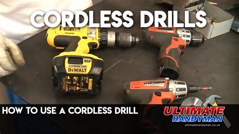cordless drill youtube