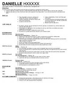 spa salon resume exles 7 966 and spa resume exles sles livecareer
