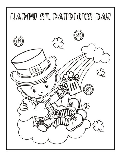 Need to know what day christmas falls on this year? Free Printable St. Patrick's Day Coloring Pages in 2020 ...