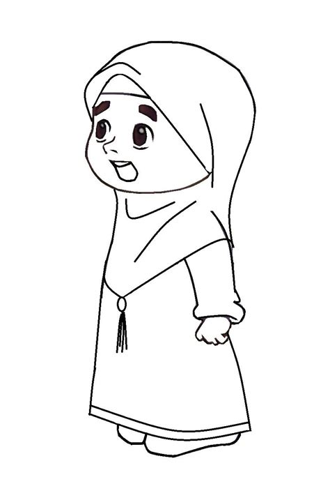 Ana Muslim Colouring Pages Mungfali