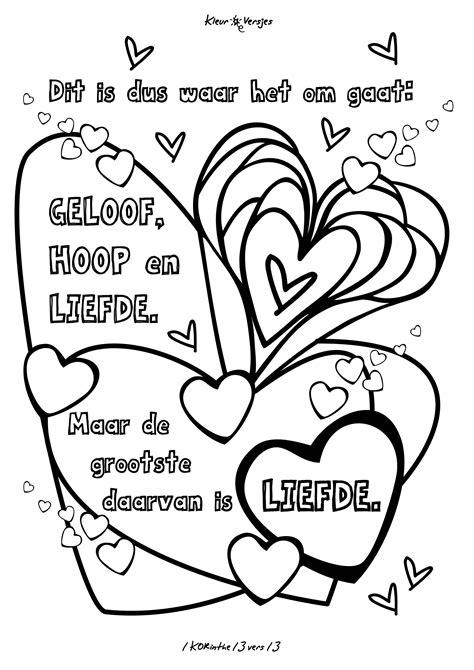 Kleurplaat Mattheus 13 by Kleurplaat Een Mooie Trouwtekst 1 Korinthe 13 Vers 13