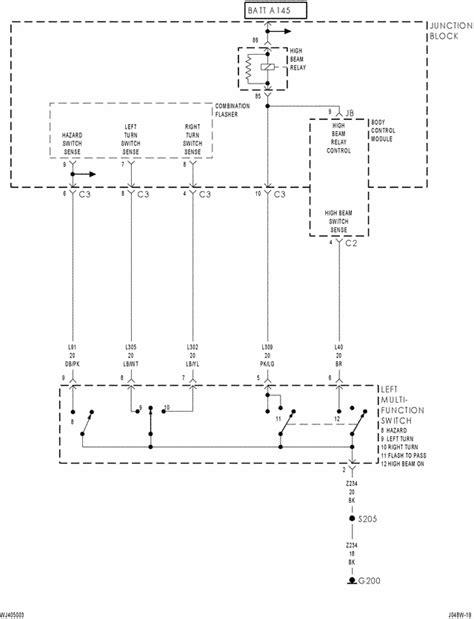 2004 jeep grand cherokee wiring schematic 2004 wiring