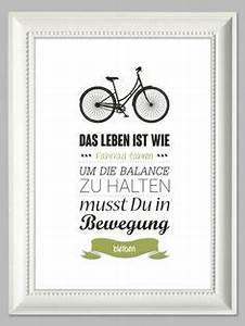Das Leben Ist Wie Ein Fahrrad : bernhard beierg lein das leben ist wie fahrrad fahren wandgestaltung mit spr chen ~ Orissabook.com Haus und Dekorationen