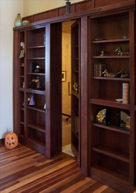 Passage Bookcase by Defeating The Squirrels And Other Lessons Building A