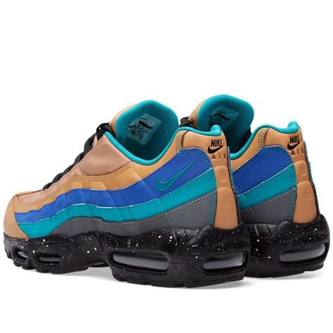 nike air max 95 premium praline turbo green grey end