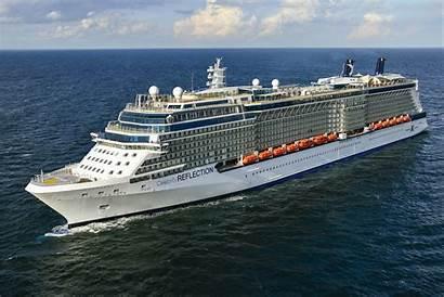 Celebrity Reflection Cruises Werft Meyer Abgeliefert Wurde