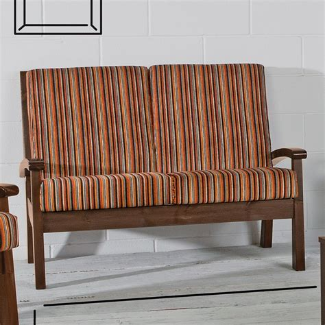 Divano Letto Stile Country - fabulous lar divano country stile wooden sofa seaters with