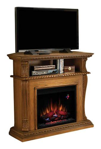 twin star corinth tv stand  electric fireplace