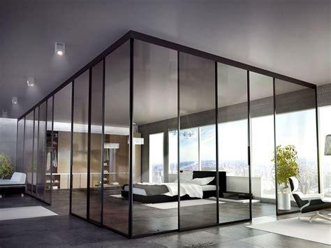 eleganti pareti divisorie scorrevoli  vetro