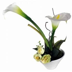 Lilie Topfpflanze Kaufen : kunstblume mit vase deko seidenblume blumen k nstliche ~ Lizthompson.info Haus und Dekorationen