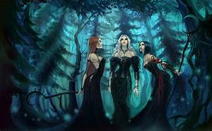 Witch, Fantasy, Art, Artwork, Spooky, Gothic, Wallpapers, Hd, Desktop, And, Mobile, Backgrounds