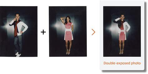 double exposure mode shooting guide instax mini