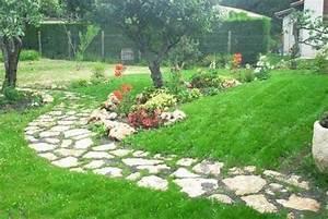 Allées De Jardin : allee jardin pierre ~ Dode.kayakingforconservation.com Idées de Décoration