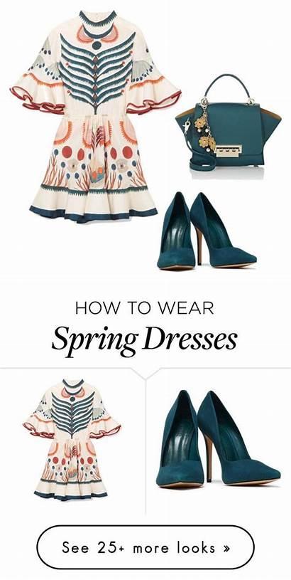 Polyvore Spring Ostara Giulia Re Outfits Schutz