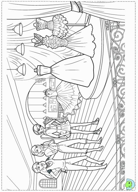 Coloring Pages Fashion Fairytale Fashion Fairytale Coloring Pages Printable