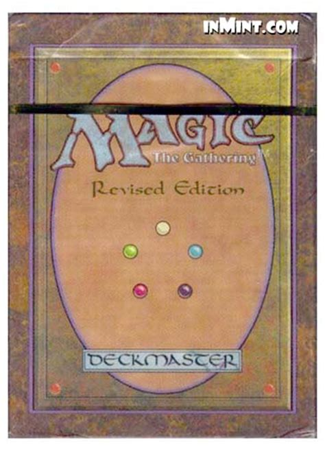 3rd ed revised starter deck list inmint magic third 3rd revised edition starter deck