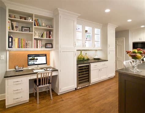 kitchen office ideas 20 clever ideas to design a functional office in your kitchen