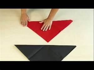 Pliage Serviette Youtube : ava pliage de serviette la pyramide youtube ~ Medecine-chirurgie-esthetiques.com Avis de Voitures