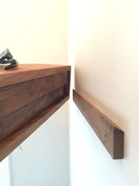diy mid century modern tv console floating shelf modern entryway wall organizer with by