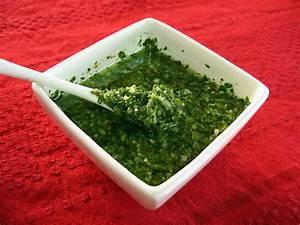 Parsley-Garlic Chimichurri Recipe : Asado Argentina