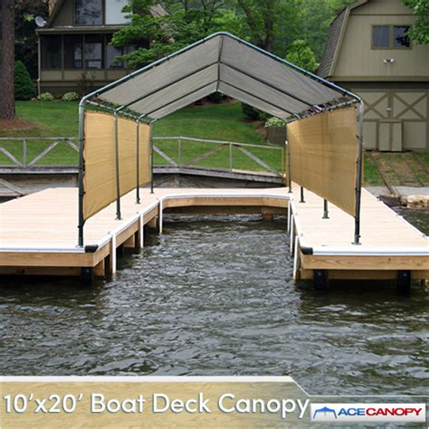 Boat Canopy Tent by Deck Boat Canopy 10x20