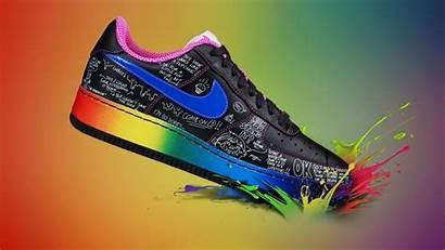 Nike Shoes Multicolor Pc Wallpapers Allwallpaper