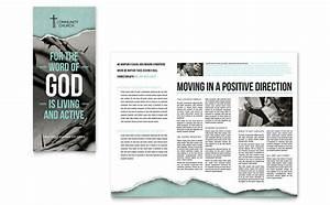 Bible church brochure template design for Church brochure ideas