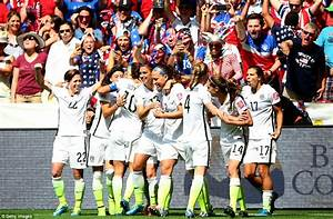US Women's World Cup team triumph in 5-2 win over Japan ...