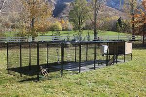 K9 kennel castle for Dog run outdoor kennel house