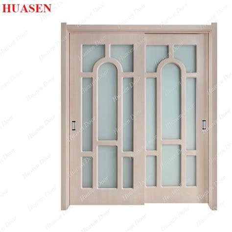 decorative glass insert sliding closet door buy