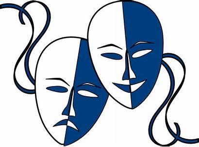Masks Theatre Clip Clipart Clker