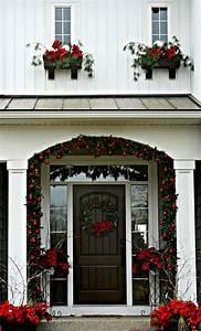 Christmas, Front, Door