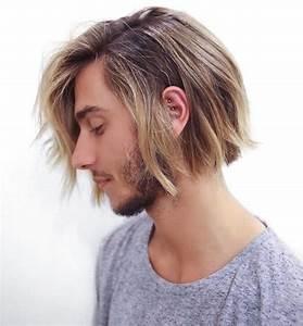 Coupe Mi Long Blond : coiffure nekfeu blond ~ Melissatoandfro.com Idées de Décoration